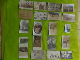 Lot De 20 Photos Militaires Toute Guerre Confondue - Guerre, Militaire
