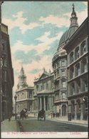 St Paul's Cathedral And Cannon Street, London, 1905 - Postcard - St. Paul's Cathedral