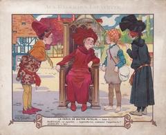 Grands Magasins Aux Galeries Lafayette - Chromo- La Farce De Maître Patelin Scène V - Illustrateur Henry Morin. - Other
