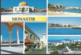 MONASTIR TUNISIE, PC, Circulated - Tunisia