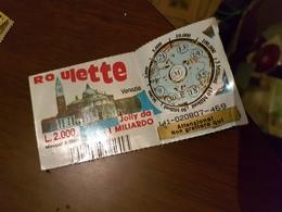 BIGLIETTO GRATTA E VINCI ROULETTE - Altre Collezioni