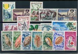RC 10332 WALLIS ET FUTUNA N° 156 / 168 ENSEMBLE SANS CHARNIERE COTE 65€ NEUF ** TB - Wallis And Futuna