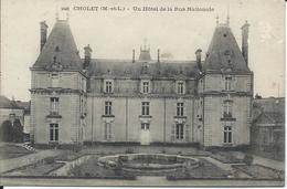 CP 49 - Cholet Hotel De La Rue Nationale - Cholet