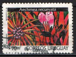 URUGUAY - 1999 - AECHMEA RECURVATA - USATO - Uruguay