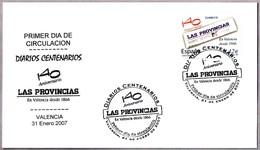 Periodico - Newspaper - Journal - LAS PROVINCIAS. SPD/FDC Valencia 2007 - Otros