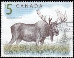 Canada - Scott #1693 Moose (*) / Used Stamp - 1952-.... Reign Of Elizabeth II