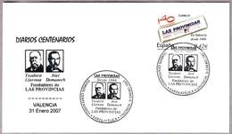 Periodico - Newspaper - Journal - LAS PROVINCIAS. Valencia 2007 - Otros