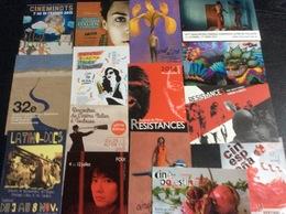 14 Cartes Postales : Festivals & Rencontres Cinématographiques (Alès-foix-Toulouse) - Non Classés