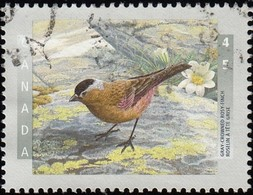 Canada - Scott #1713 Gray-crowned Rosyfinch (*) / Used Stamp - 1952-.... Reign Of Elizabeth II