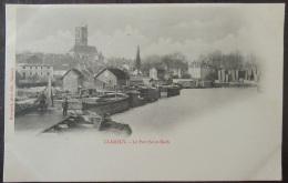 Clamecy (Nièvre) - Carte Postale Précurseur - Le Port St Roch - Animée - Non-circulée - Clamecy