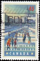 CANADA - Scott #1728 Rideau Canal, Ottawa / Used Stamp - 1952-.... Reign Of Elizabeth II