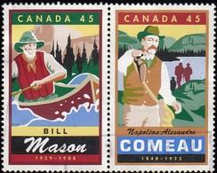 CANADA - Scott #1750-1752 Legendary Canadian / Used Stamp - 1952-.... Reign Of Elizabeth II