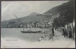 Suisse - Montreux (Vaud) - Carte Postale Précurseur - Le Quai - Animée - Non-circulée - VD Vaud