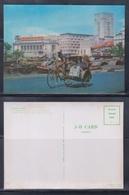 Singapore 3D Postcard, Singapore River, Unused - Singapore
