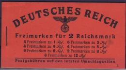 Germany Markenheft 48.3 Postfrisch/neuf Sans Charniere /MNH/**  Left Top Outside Small Fold - Deutschland