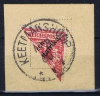 DSWA:    Mi 7 H Halbierung Keetmanshoop  1900 - Kolonie: Deutsch-Südwestafrika