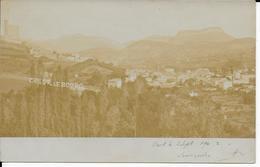 Superbe Photo Cpa CREST-26- écrite Voyagée-1902-Le Bourg -dos Non Divisé - Crest