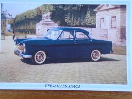 AUTOMOBILE - VERSAILLES SIMCA N° 1 -BVINS PRIMIORS - Blotters