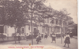 Granville/50/ Institution Sévigné Cour De Récréation/ Réf:fm786 - Granville