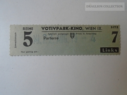 ZA101.35 Austria WIEN  Cinema KINO -Votivpark  Ticket - Tickets D'entrée