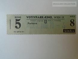 ZA101.36 Austria WIEN  Cinema KINO -Votivpark  Ticket - Tickets D'entrée