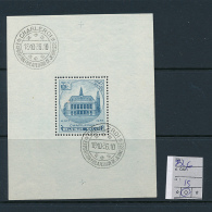 BELGIUM COB BL6 UED - Blocks & Sheetlets 1924-1960