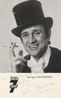 GEORGES DESCRIERES  En Costume D'Arsene Lupin Dédicacée 1048J - Entertainers