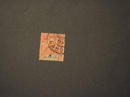 GABON - 1904/67 ALLEGORIA 10 C. - TIMBRATO/USED - Gabon (1886-1936)