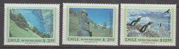 Chile 1981 Easter Island / Antarctica 3v ** Mnh (40978B) - Chili