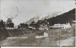 Superbe Photo Cpa Montana - Sur- Sierre -SUISSE-écrite Voyagée 1918-édit:d'art Perrochet Matile - Suisse