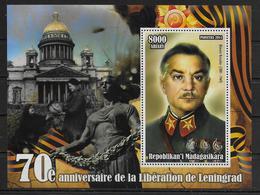 MADAGASCAR  BF ( 2014 ) * * Guerre Liberation De Leningrad Vorosilov - Guerre Mondiale (Seconde)