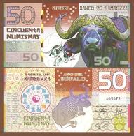 KAMBERRA 50 Numismas 2009 Polymer UNC. Year Of The Bull - Billets