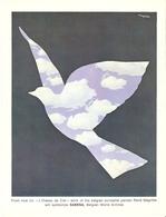 Publicité SABENA - René Magritte - L'oiseau De Ciel - 1966 - Advertisements