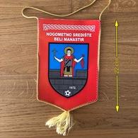 Flag (Pennant / Banderín) ZA000391 - Football (Soccer / Calcio) Croatia NSO Beli Manastir - Apparel, Souvenirs & Other