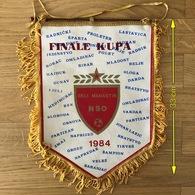 Flag (Pennant / Banderín) ZA000392 - Football (Soccer / Calcio) Croatia NSO Beli Manastir - Apparel, Souvenirs & Other