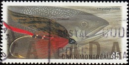 CANADA - Scott #1717 Fishing Flies / Used Stamp - 1952-.... Reign Of Elizabeth II