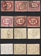 ITALIA REGNO - 1875 - CIFRE - USATI - Servizi