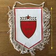 Flag (Pennant / Banderín) ZA000393 - Football (Soccer / Calcio) Croatia NSO Beli Manastir - Apparel, Souvenirs & Other