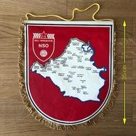 Flag (Pennant / Banderín) ZA000395 - Football (Soccer / Calcio) Croatia NSO Beli Manastir - Apparel, Souvenirs & Other