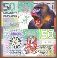 KAMBERRA 50 Numismas 2016 Polymer UNC. Year Of The Monkey - Billets