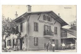 20627 - RARE Senarclens Café Du Tilleul Cheval Cachet Cossonay 1912 - VD Waadt