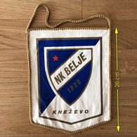 Flag (Pennant / Banderín) ZA000398 - Football (Soccer / Calcio) Croatia Belje Knezevo - Apparel, Souvenirs & Other