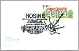 19th ANNUAL BLUEGRASS FESTIVAL - Musical Instruments - Intrumentos Musicales. Rosine KY 1992 - Música