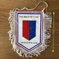 Flag (Pennant / Banderín) ZA000400 - Football (Soccer / Calcio) Croatia Bratstvo Jagodnjak - Apparel, Souvenirs & Other