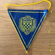 Flag (Pennant / Banderín) ZA000404 - Football (Soccer / Calcio) Croatia Darda - Apparel, Souvenirs & Other