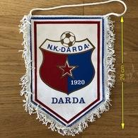 Flag (Pennant / Banderín) ZA000405 - Football (Soccer / Calcio) Croatia Darda - Apparel, Souvenirs & Other