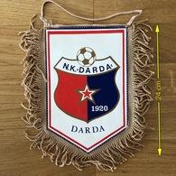 Flag (Pennant / Banderín) ZA000406 - Football (Soccer / Calcio) Croatia Darda - Apparel, Souvenirs & Other