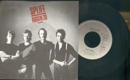SPLIFF -AUGEN ZU -ES IST SOWEIT- VINILE 45 GIRI - ANNO 1982 - Vinyl Records