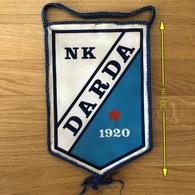 Flag (Pennant / Banderín) ZA000407 - Football (Soccer / Calcio) Croatia Darda - Apparel, Souvenirs & Other