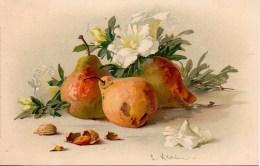 Illustrateur KLEIN Poires Et Fleur  Edit : MEISSNER &Buch - Klein, Catharina